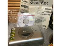 NEW IN THE BOX Canon Card Photo Printer CP 200 Comes with charger / WORTH £80 NEW ON EBAY