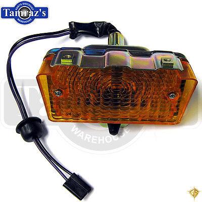 Front Signal Assembly Lens - 71-72 Nova Front Parking Turn Signal Light Lamp Lens Housing Assembly - Legion