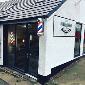 Barber shop with bar for sale
