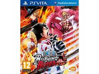One piece burning blood ps vita, playstation vita £15 only