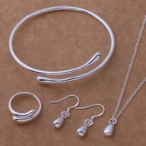 Women classic silver jewellery necklace earring rings bracelet set Hawthorn East Boroondara Area Preview