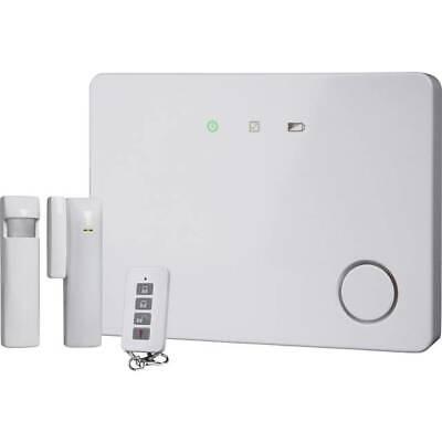 Erweiterbar System (30 Zonen Funk Alarmsystem erweiterbar LAN-Anschluss Smartphone APP HA701IP  S18 )