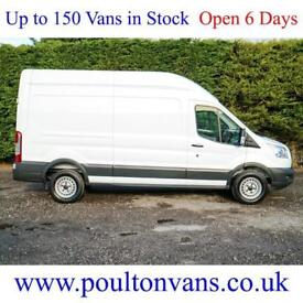 2016 (16) FORD TRANSIT 350 R.W.D L3 H3 LWB HIGH ROOF PANEL VAN, 125PS