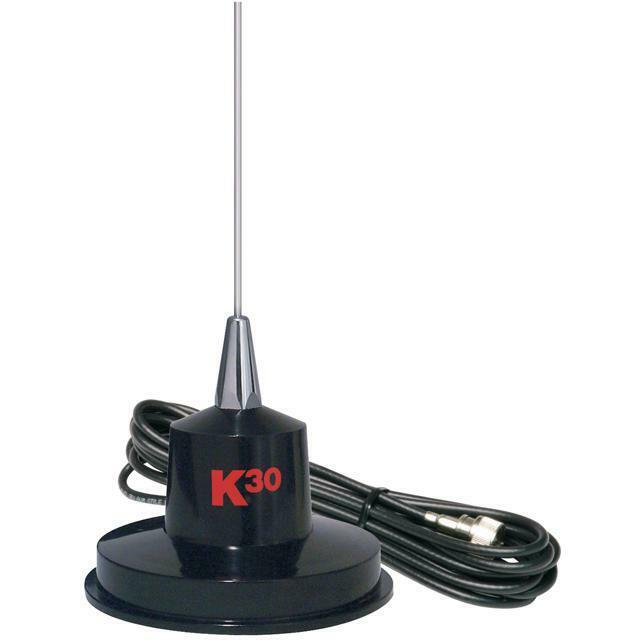 "K40 35"" Magnet Mount 300 Watt Stainless Steel CB Antenna K-30"