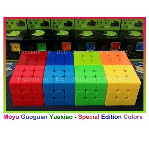 # Moyu Guoguan Yuexiao 3x3 Special Edition in 8 Colors #
