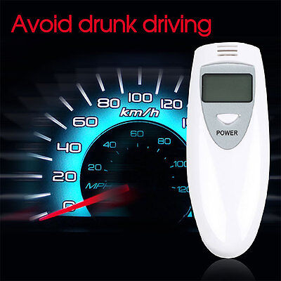 Digital Alcohol Breathalyzer Breath Tester Analyzer LCD Display