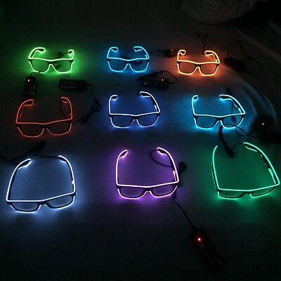 LED-Brille Leuchtbrille Festival Party Jungesellenabschied m Batt-sofort bereit