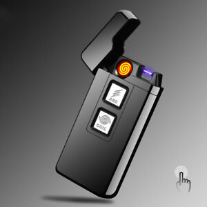 Arc + Coil Rechargeable USB Lighter with Touch Technology!