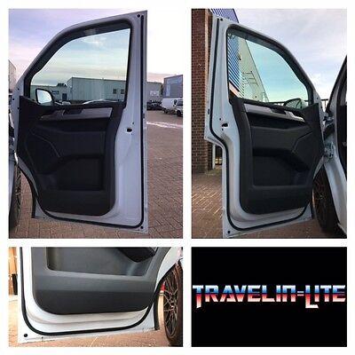 For VW T5 T5.1 Rubber Door Seal Front Doors 16x16mm 3m Tape OEM Spec Brand New