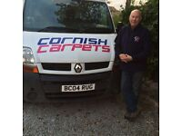 Cornish Carpets. The Mobile Carpet & Vinyl Showroom that comes to you! Free fitting with every order