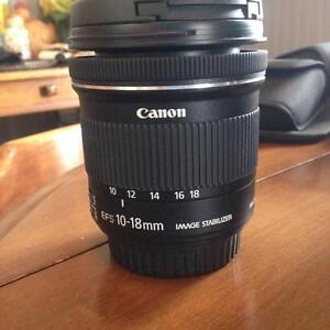 Canon 10-18 IS Wide Angle lens