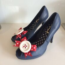Pin up style peep toe heel Brighton Bayside Area Preview