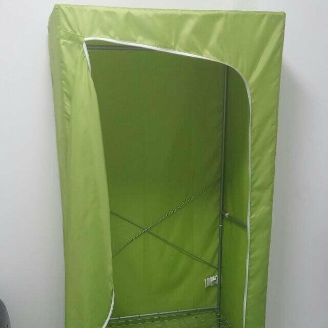 IKEA BREIM green Wardrobe like new
