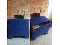 Restored vintage chest of drawers