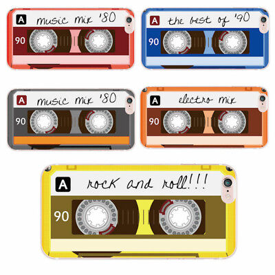 - Retro cassette tape soft case cover for iPhone 5 6 7 8 Plus X Samsung S8 S9 A8