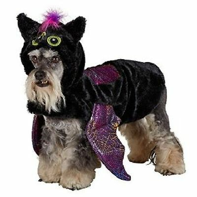 Black Bat Halloween Dog Pet Costume X-Small (New with Tags) - Bat Dog Halloween Costume
