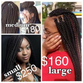 Cheap hair extensions in gold coast region qld hairdressing logan affordable box braiding pmusecretfo Image collections