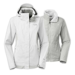 The North Face women's jacket light grey size M