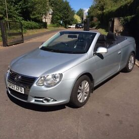 CONVERTIBLE Hardtop - Volkswagon EOS - Sensible Offers - Leather Heated Seats - 74k Low Mileage