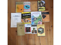 Twelve books on beekeeping which are in invaluable resource if you are starting out beekeeping