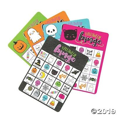 Childrens Halloween Party Games (12 player HALLOWEEN Bingo KIDS BIRTHDAY PARTY)