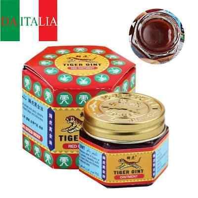 Balsamo di TIGRE Rosso ORIGINALE (il prodotto si trova in ITALIA )