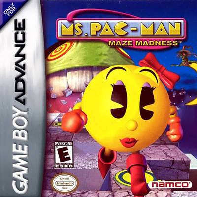 Ms. Pac-Man Maze Madness GBA New Game Boy Advance