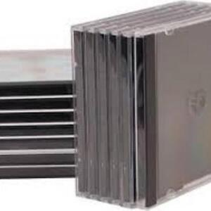 CD / DVD JEWEL CASES (80+CASES)