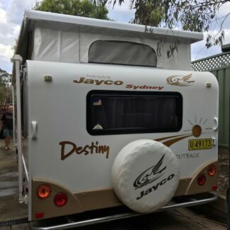 Jayco Destiny Outback off-road caravan