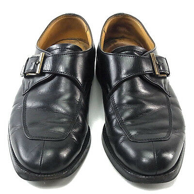 Auth BURBERRY Shoes Monk Strap Men