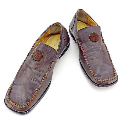 Auth Louis Vuitton Loafers Mens used T1797