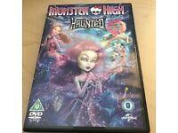 Monster High DVD Haunted