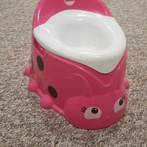 Price drop! EUC FISHER PRICE LADYBUG POTTY
