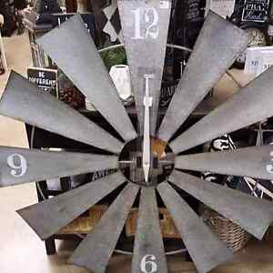 "48"" Windmill Clock (Brand New)"