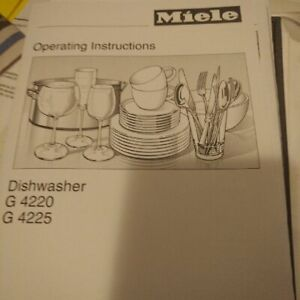 Miele Dishwasher G4220 good for parts