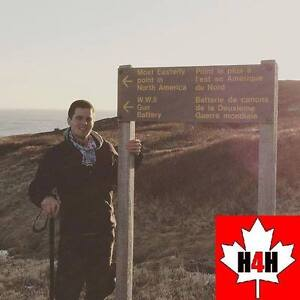 Backpacking across Canada