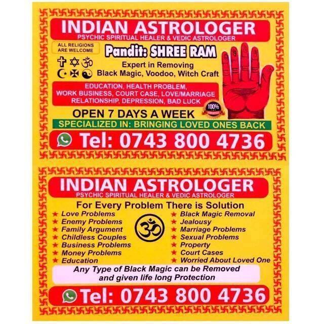 Astro Shreeram in London Call Now on Spiritual Healing