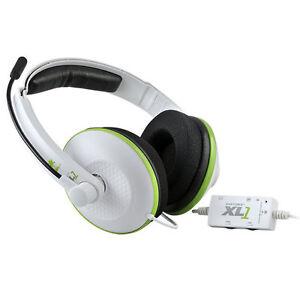 Turtle Beach Headset for Xbox 360, White