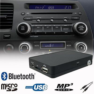 Car Bluetooth USB SD MP3 Music Player Adapter Interface Honda CRV CRZ FRV S2000
