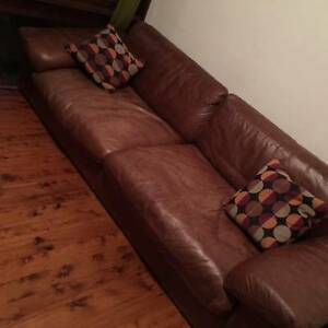 Leather republic 4-seater for sale Naremburn Willoughby Area Preview