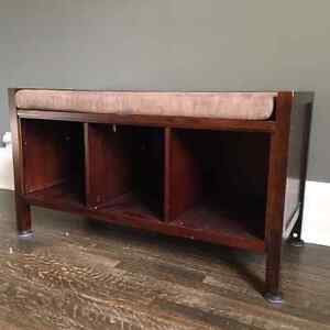 Bookcase and Bench