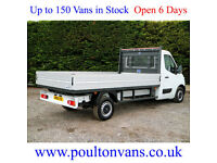 """2016 (16) RENAULT MASTER LL35 BUSINESS RWD 12'11"""" L3 DROPSIDE PICK UP,NOT TIPPER"""