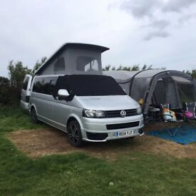 2014 VW T5 CAMPER VAN,MOTOR HOME 2.0 TDI,POP TOP, LWB, 140BHP, 6 SPEED, AIR CON