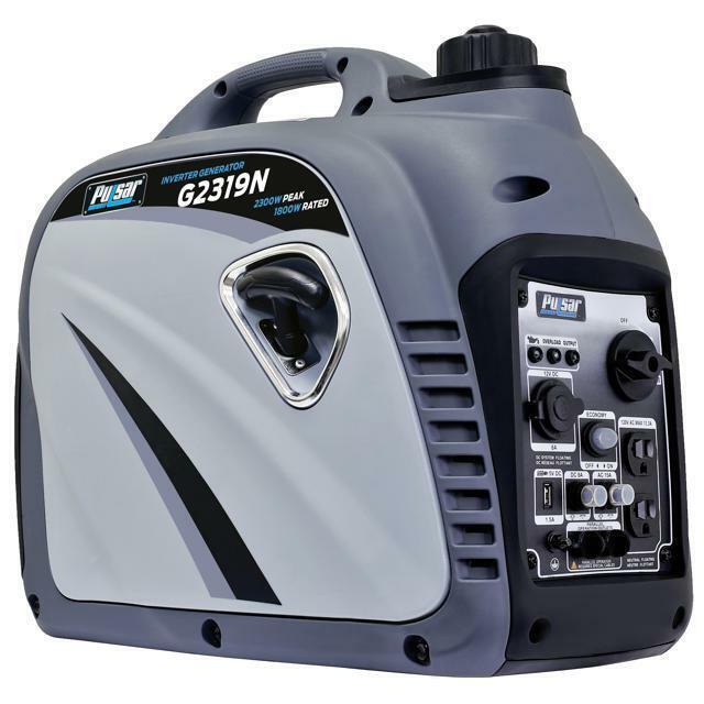 Pulsar 2300 Watt Portable Gasoline Inverter Generator Ultra Quiet G2319N