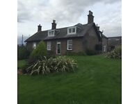 House to rent Dundee Lovely traditional farmhouse,near Muirhead 3 bedrooms,amazing view,garden