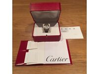 Men's Large Cartier Tank Francaise