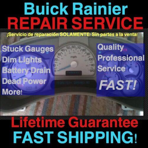 GM REPAIR SERVICE 2006 Buick Rainier Instrument Gauge Cluster 04 05 06 07
