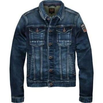 Pme legend sweat denim jack Maat: M