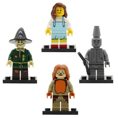 Wizard Of Oz Minifigure Cowardly Lion Dorothy Scarecrow Figure For Custom Lego - Dorothy Custome