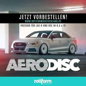 ROTIFORM AERODISC ------- AVAILABLE IN 19 INCH ------ NEW + COLORED OPTION